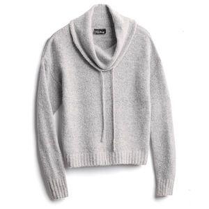 'Love Always' Cowl Neck Drawstring Pullover